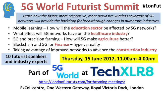 5G World Futurist summit
