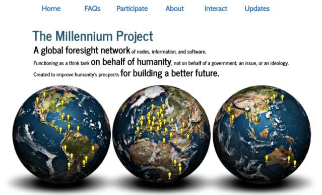 Millennium Project Banner