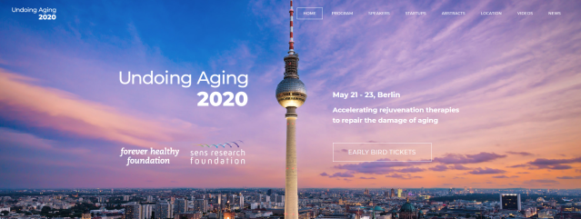 Undoing Aging 2020