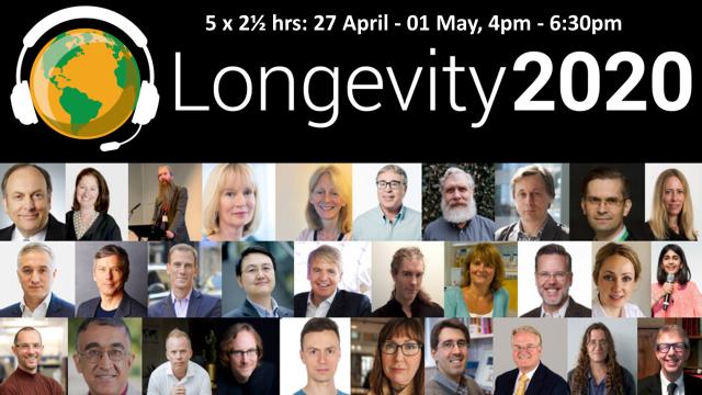 Longevity 2020 banner
