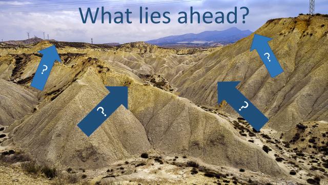 What lies ahead landscape